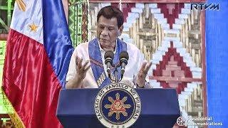 DUTERTE SPEECH JULY 25, 2018 | NO MORE JOKES | PANGULO SOBRANG SERYOSO NA SA KANYANG SPEECH