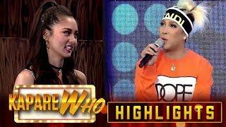 Kim Chiu gets offended by Vice Ganda's jokes | It's Showtime KapareWho