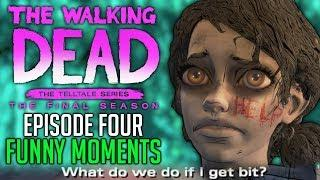 """FUNNY MOMENTS of The Walking Dead: The Final Season Episode 4 """"Take Us Back"""""""