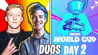 ???? Fortnite World Cup Finals DUOS LIVE - WEEK 2 DAY 2 - Ft. Tfue, Ninja & Nick eh 30