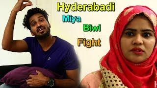 Hyderabadi Miya Biwi Fight Part-5 Latest Funny Comedy ||Directed By jhon veeran