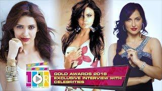 Exclusive Interview With Celebrities l Zee Gold award - 2018