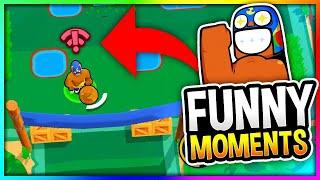 BEST Brawl Stars Funny Moments, Glitches & Fails Montage V3