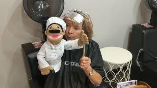 Jokes at the hair salon ! (Another microphone is needed, for next time ????)