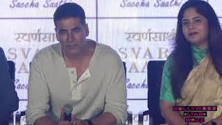 Akshay Kumar's FUNNY Reply To Reporter For Asking Quotation On Bollywood Stars