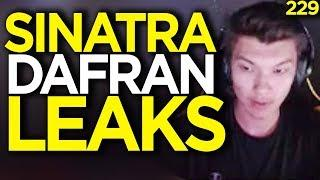Sinatraa Leaks Dafran's New Team - Overwatch Funny Moments 229