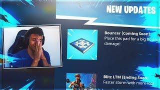 MYTH REACTS TO *NEW* DIRECTIONAL JUMP PAD (BOUNCER) - Fortnite Funny Moments and Highlights #92