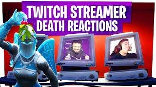 KILLING FORTNITE TWITCH STREAMERS with REACTIONS! - Fortnite Funny Rage Moments ep15
