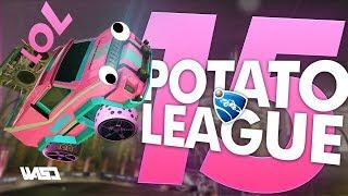 POTATO LEAGUE #15 | Rocket League Funny Moments & Fails