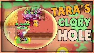 TARA'S GLORY HOLE :: (GLITCH?) 9 DYNAMIKES STUCK IN A WALL! :: Brawl Stars Glitch