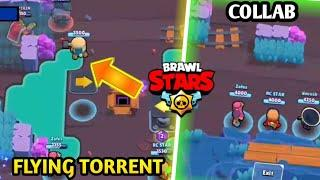 Flying torrent Glitch In Brawl Stars !? Ft Zofes And RC STAR ! Funny gameplay #3