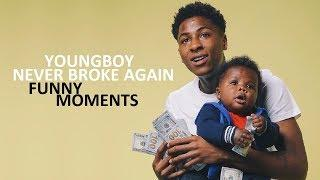 YoungBoy Never Broke Again FUNNY MOMENTS (BEST COMPILATION)