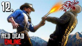 Funny Moments and Fails RED DEAD ONLINE - Red Dead Redemption 2 Try Not To Laugh