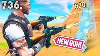 *NEW* GUN BEST PLAYS! - Fortnite Funny WTF Fails and Daily Best Moments Ep.736
