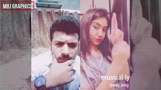 Best Funny Love Shot | MBJ KING x Shiza Soomro | Oru Adar Love | Dubsmash | Musically Pakistan