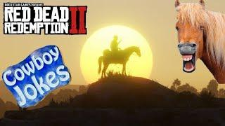 Cowboy Jokes - Red Dead Redemption 2 online live stream #04 Jokes & Posse online time