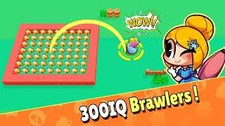 300 IQ Brawlers Brawl Stars 2019 Funny Moments & Glitches ????