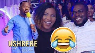 USHBEBE CRACK JOKES ON HOW HE LEFT BANKING JOB TO BECOME A COMEDIAN