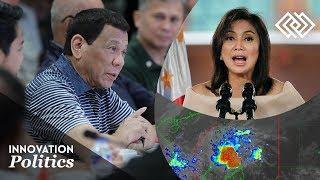 President Duterte jokes storms should be named 'LENI, Bernadette'