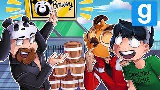 THE A*S JUICE BREWERY! - Gmod Deathrun Funny Moments