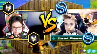 VITALITY KEOLYS AFFRONTE SOLARY NIKOF EN BUILDFIGHT ???? Fortnite Funny Moments #41