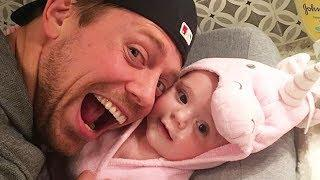 Funny Daddy Love Baby Moments - Video Cute Baby And Daddy