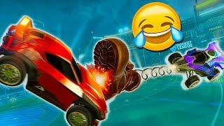 PIÙ DISSING CHE GOAL! - Rocket League Funny Moments