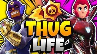 BRAWL STARS THUG LIFE: Funny Moments EP. 30 (Brawl Stars Epic Wins & Fails)