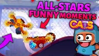 C.A.T.S ALL-STARS FUNNY MOMENTS - Best Battles Compilation (Crash Arena Turbo Stars)