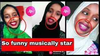 Zara abbass funny musically  video||acting of musically stars