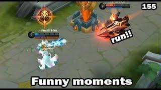Mobile Legends Funny Moments Episode 155 | Lucu |  OMG  300 IQ Plays Moments |