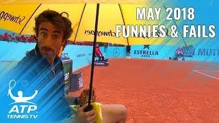 Funniest Moments & Fails from May: 2018 ATP Season