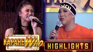 Kim Chiu gets scared of Vice Ganda | It's Showtime KapareWho