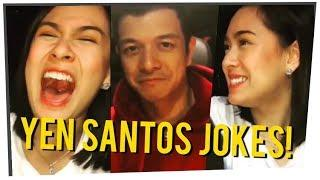 Yen Santos Corny Jokes HAHAHAHA! (HALIK Behind The Scene)