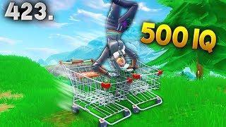 500 IQ CART TRICK..!!! Fortnite Daily Best Moments Ep.423 (Fortnite Battle Royale Funny Moments)