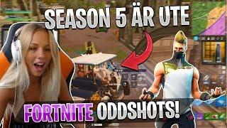 Svenska Fortnite Oddshots #20 - SEASON 5!! (HIGHLIGHTS/FUNNY MOMENTS)