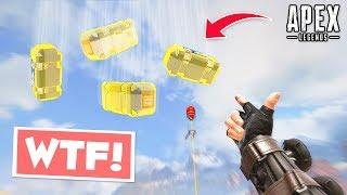 0.01% GOLD LOOT FROM SKY!.. Apex Legends WTF & Funny Moments