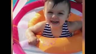 Funny Babies Video    Cute Babies Love To Bath In The water