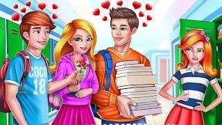 Play Fun High School Crush - Princess First Love & Makeup Game by Coco Play