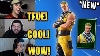 "Streamers React to *NEW* ""Cabbie"" Skin! 