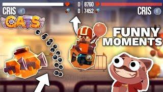 C.A.T.S BEST FUNNY MOMENTS - EPIC BATTLES MONTAGE Crash Arena Turbo Stars