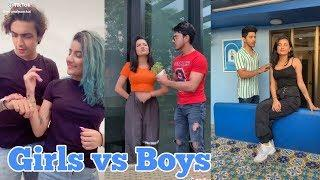 Girls vs Boys tik tok videos//tiktok india//tiktok queen//vigo video//funny tiktok//tiktok hot//sexy