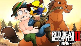 This thumbnail is exactly what you think it is ???? [Red Dead Redemption 2 Online Funny Moments]