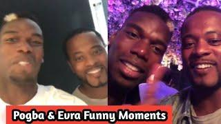Paul Pogba & Patrice Evra Funny Moments - Best.