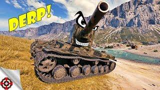 World of Tanks - Funny Moments | Time to DERP! (WoT derp,  January 2019)