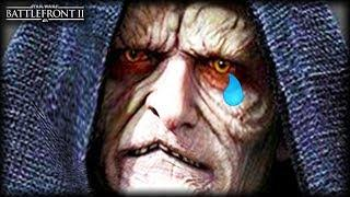 Star Wars Battlefront 2 WE FOUND PALPATINE! - Funny Gameplay Moments