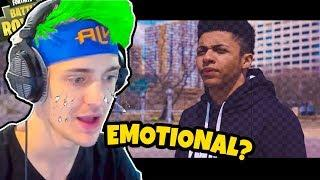 NINJA REACTS *Myth - Song of Love (Official Music Video)* - Fortnite FUNNY & SAVAGE Moments