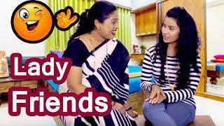 दोन मैत्रीण | मराठी कॉमेडी | Funny Lady | Comedy Video | Marathi Jokes