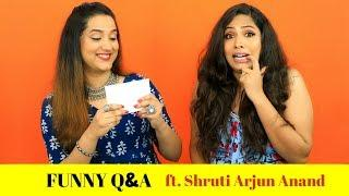 Funny Q & A with Shruti Arjun Anand   Perkymegs Hindi
