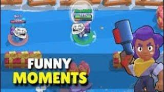 Brawl stars funny moment glitches and fail